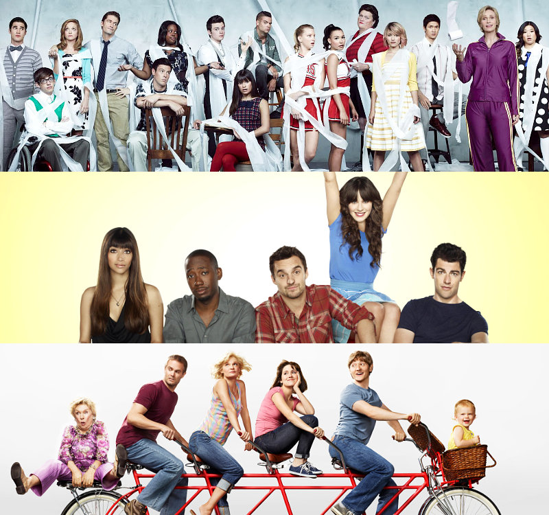 Stars of 'Glee', 'New Girl' and 'Raising Hope' React to Show Renewals