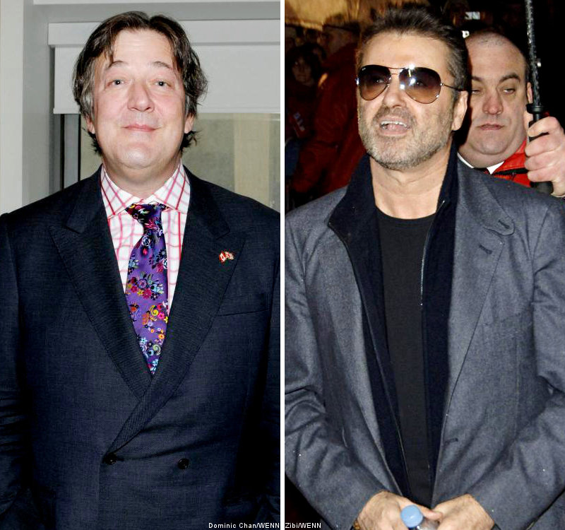 Stephen Fry Wants to End Rift With George Michael