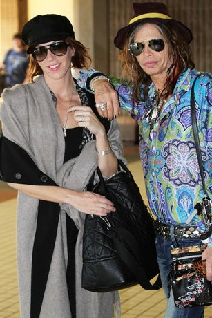 Steven Tyler Might Have Gotten Engaged to Girlfriend of Five Years