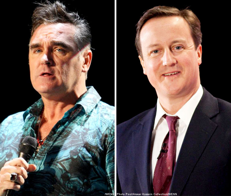 Steven Patrick Morrissey Clears Up David Cameron Rumour