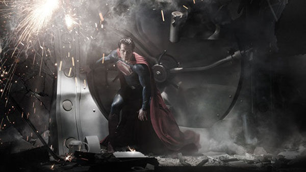 The Superman Costume in 'Man of Steel' Revealed