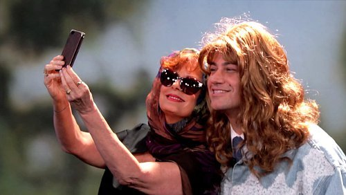 Susan Sarandon and Jimmy Kimmel Recreate 'Thelma and Louise' Selfie