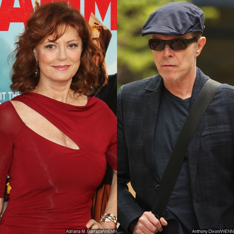 Susan Sarandon Reveals Affair With David Bowie