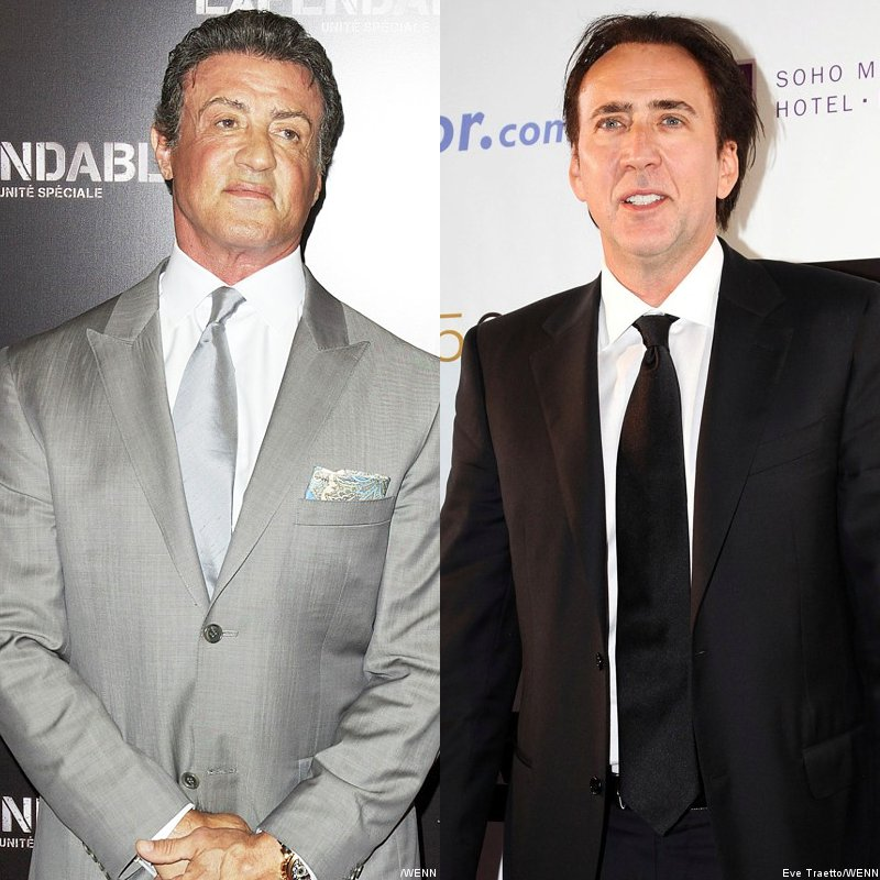 Sylvester Stallone Debunks Nicolas Cage's Casting in 'Expendables 3'