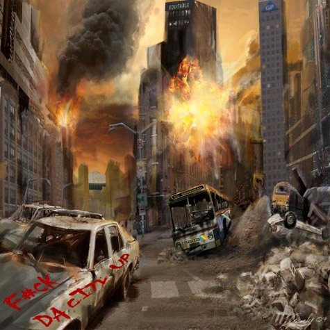 T.I. Reveals Apocalyptic Cover Art for 'F*ck Da City Up'