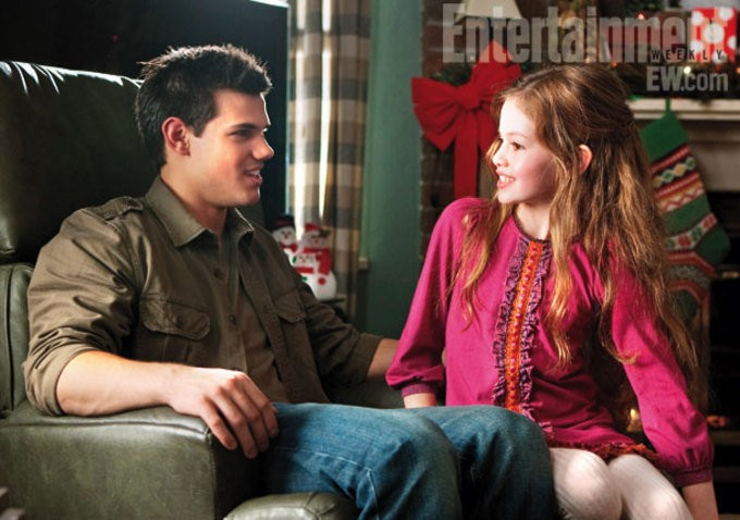 Taylor Lautner Dishes On Jacob's Relationship With Renesmee in 'Breaking Dawn II'