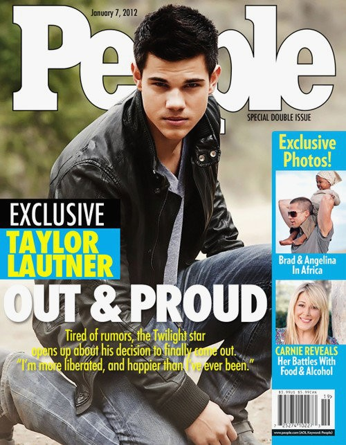 Taylor Lautner Falls Victim to Fake Coming Out Cover Story
