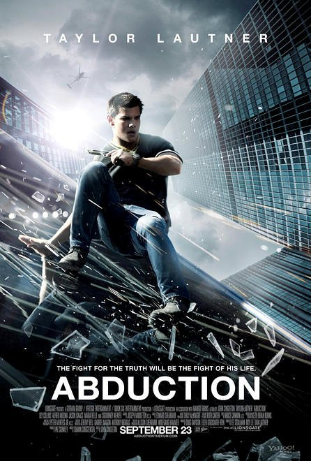 Taylor Lautner Slides Down Skyscraper on Fresh 'Abduction' Poster