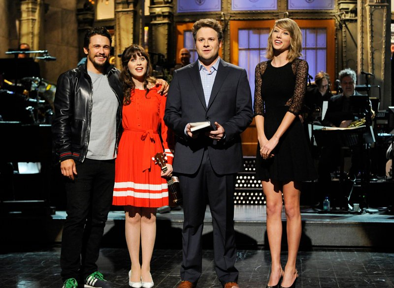 Video: Taylor Swift and James Franco Make Surprise Cameo on Seth Rogen-Hosted 'SNL'