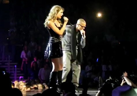 Video: Taylor Swift and T.I. Make 'Live Your Life' Duet in Atlanta