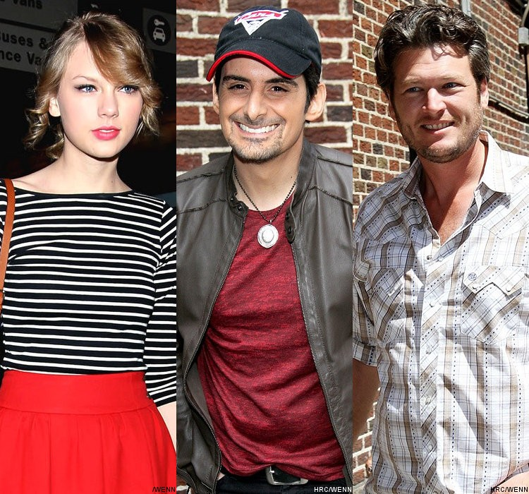 Taylor Swift, Brad Paisley, Blake Shelton to Perform at 2011 CMA Awards