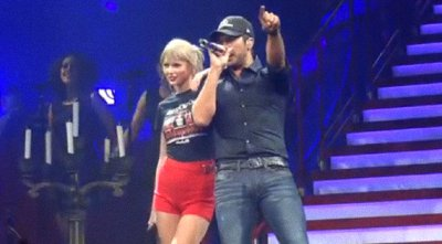 Taylor Swift Joined by Luke Bryan at Nashville Show to Perform 'I Don't Want This Night to End'
