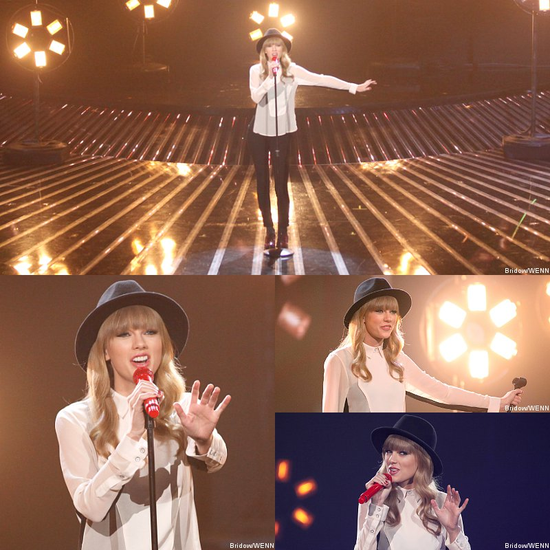 Taylor Swift's First 'State of Grace' TV Performance on U.S. 'X Factor'