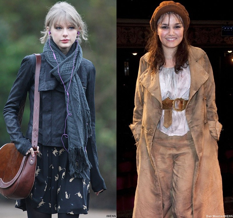 Taylor Swift Loses to Samantha Barks for Eponine Part in 'Les Miserables'