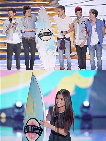 TCAs 2013: One Direction and Selena Gomez Win Big in Music