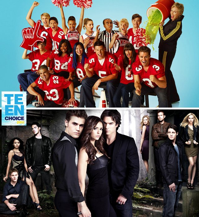 2011 Teen Choice Awards: 'Glee' and 'Vampire Diaries' Lead TV Nominees