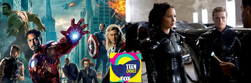 Teen Choice Awards 2012: 'The Avengers' Faces Off 'The Hunger Games' in Movie Nominations
