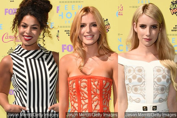 Teen Choice Awards 2015 Emma Roberts Bella Thorne Dress