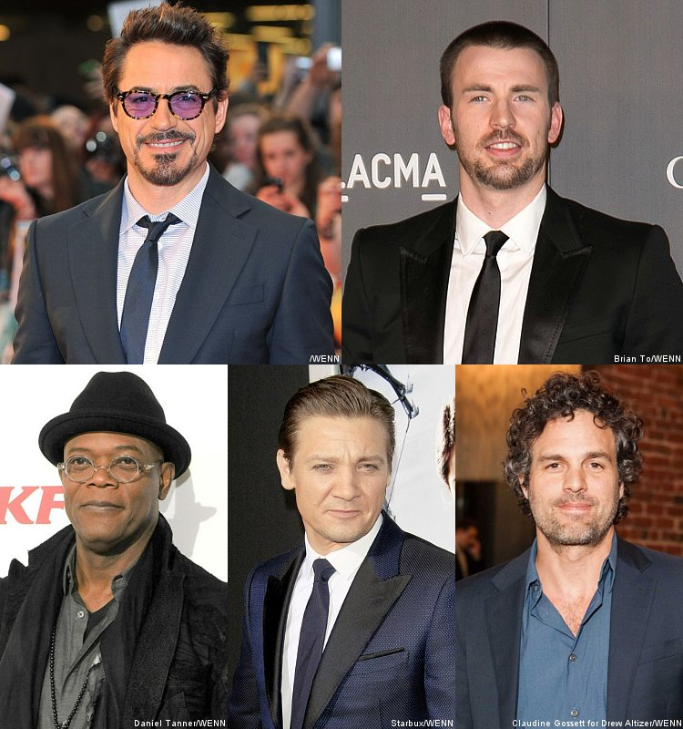 The 'Avengers' Cast Will Reunite as Presenters at 2013 Oscars