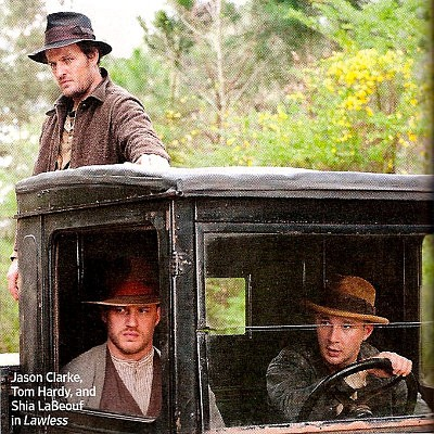 First Look at the Bondurant Trio in John Hillcoat's 'Lawless'