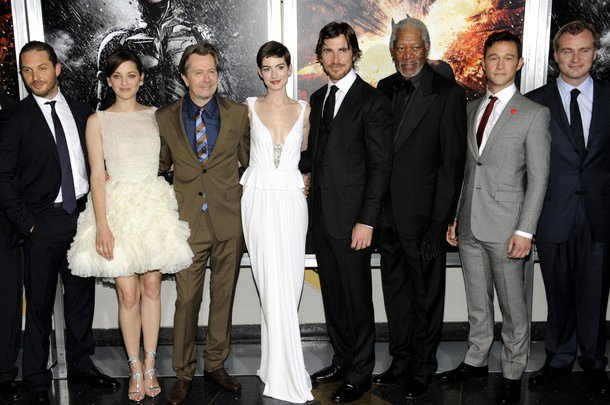 'The Dark Knight Rises' Throws All-Star New York Premiere