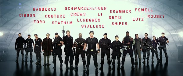 'The Expendables 3' Teaser Trailer Introduces the New Pack