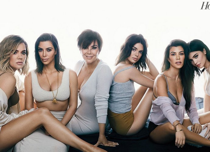 The Kardashians Pose in Skimpy Lingeries for The Hollywood Reporter
