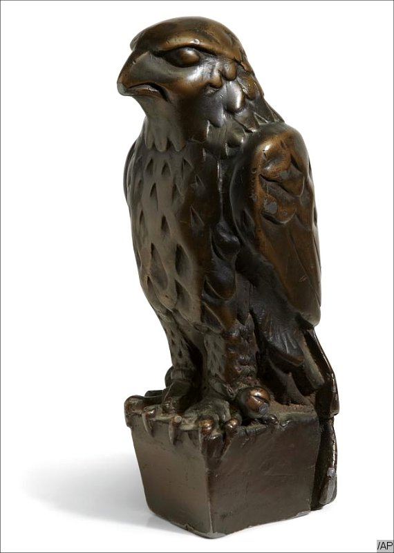 The 'Maltese Falcon' Statue Fetches $4 Million at Auction