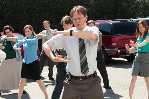 'The Office' Series Finale Preview Teases Dwight and Angela's Wedding