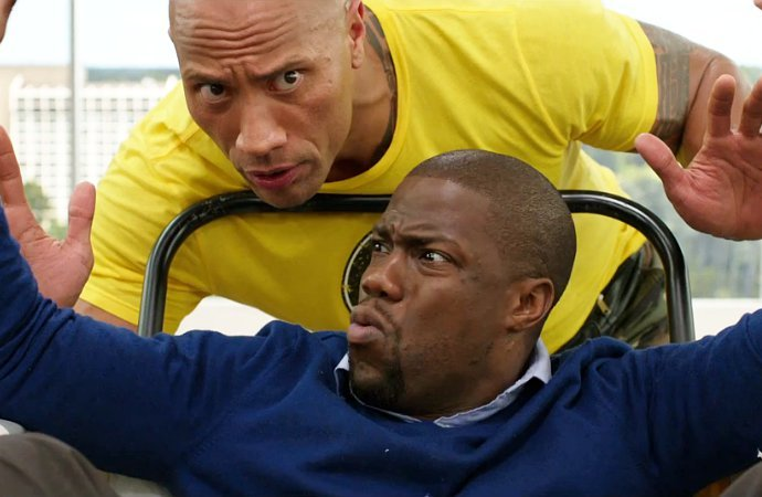 The Rock and Kevin Hart Form Unlikely Bond in 'Central Intelligence' First Trailer