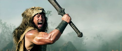 The Rock Fights Sea Serpent in 'Hercules' Trailer
