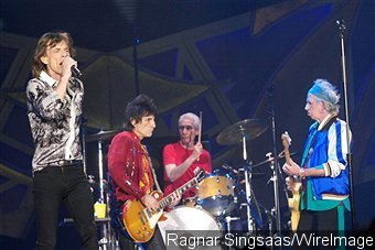 The Rolling Stones Rocks Norway in First Concer Since L'Wren Scott's Death