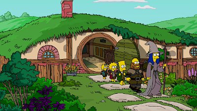 Video: 'The Simpsons' Takes on 'The Hobbit' in Couch Gag