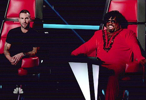 'The Voice': Cee-Lo Torn Between Tony and Cheesa, Adam Makes the Obvious Choice