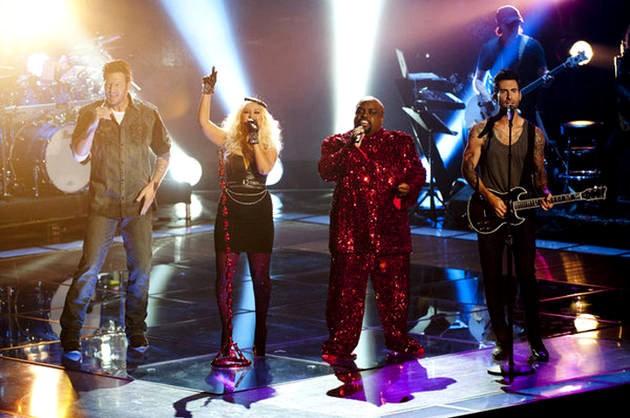 Video: 'The Voice' Coaches Kick Off Night Two With Stunning Medley of Prince's Hits