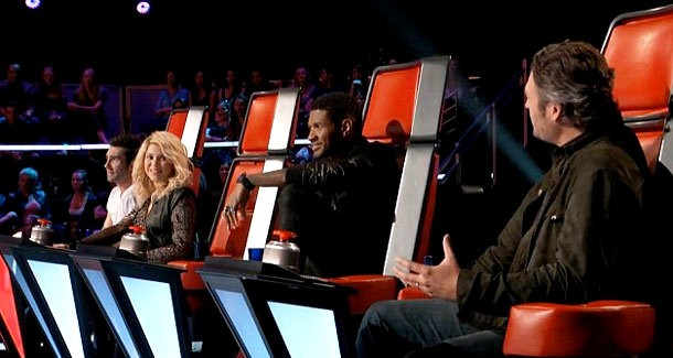 'The Voice' Season 4 Premiere: Shakira and Usher Make Their Debut on the Judging Panel