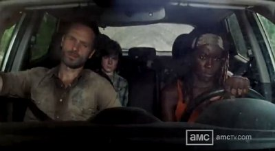 'The Walking Dead' 3.12 Sneak Peeks: Rick Ignores a Stranger on the Road