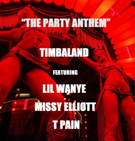 Timbaland Releases New Track 'The Party Anthem'