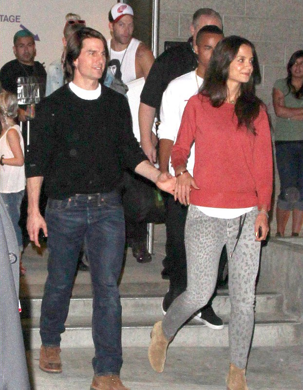 Tom Cruise Caught on Tape Grabbing Katie Holmes' Ass