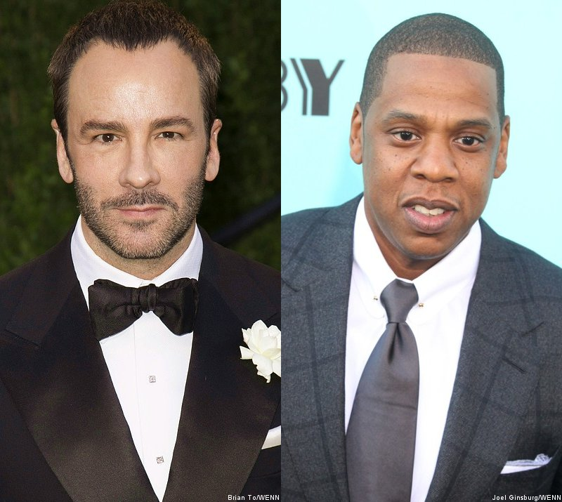 Designer Tom Ford 'Flattered' by Jay-Z's Song