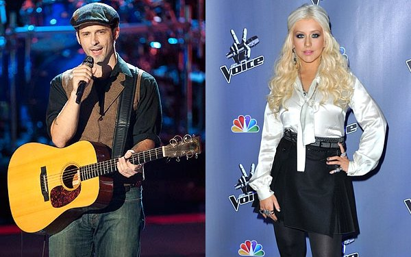 Tony Lucca Feels Christina Aguilera Tries to Get Him Out of 'The Voice'