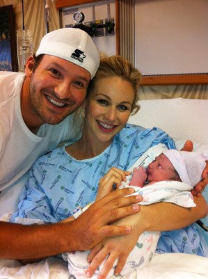 Tony Romo Shares First Picture of His Baby Boy