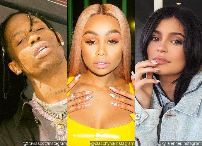 Travis Scott Is Seen Partying With Blac Chyna on 'Flirty' Outing. How About Pregnant Kylie Jenner?