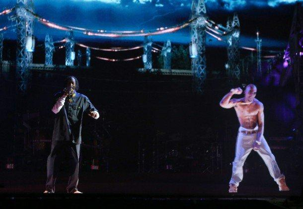 Tupac Shakur to Tour With Dr. Dre and Snoop Dogg via Hologram Image