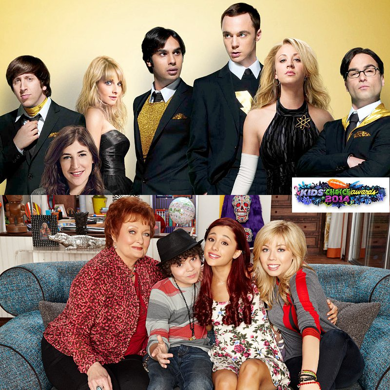 TV Nominees for 2014 Kids' Choice Awards: 'Big Bang Theory' and 'Sam and Cat' Up for Favorite Show