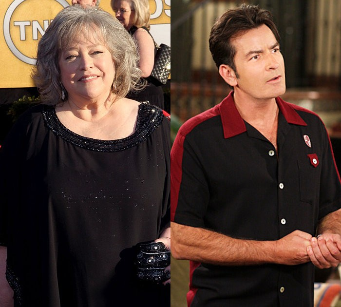 'Two and a Half Men' Casts Kathy Bates as the Ghost of Charlie Harper