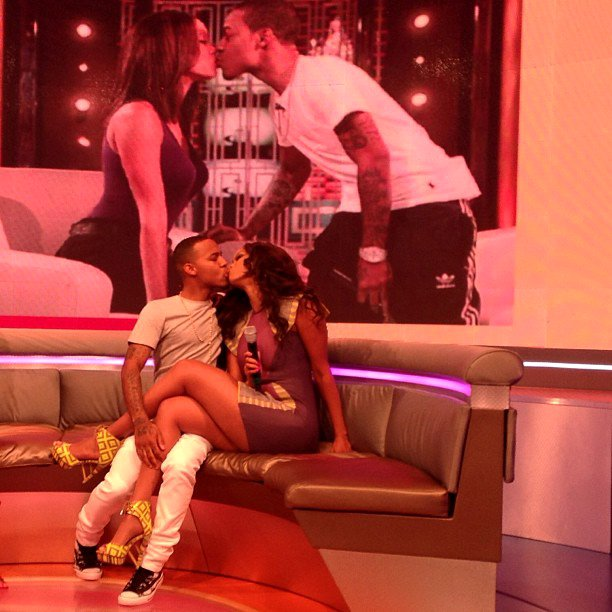 Tyra Banks Locks Lips With Bow Wow on BET's '106 and Park'