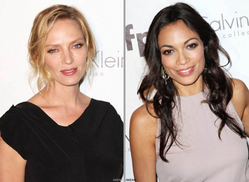 Uma Thurman, Rosario Dawson, and More Honored at Cannes