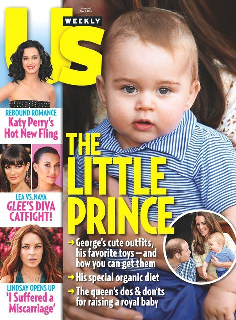 Us Weekly Denies Photoshopping Prince George's Picture