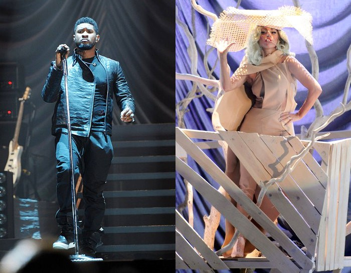 Usher Rips His Pants, GaGa Drops F Bomb at Bill Clinton Concert